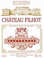 Château Filhot 2015